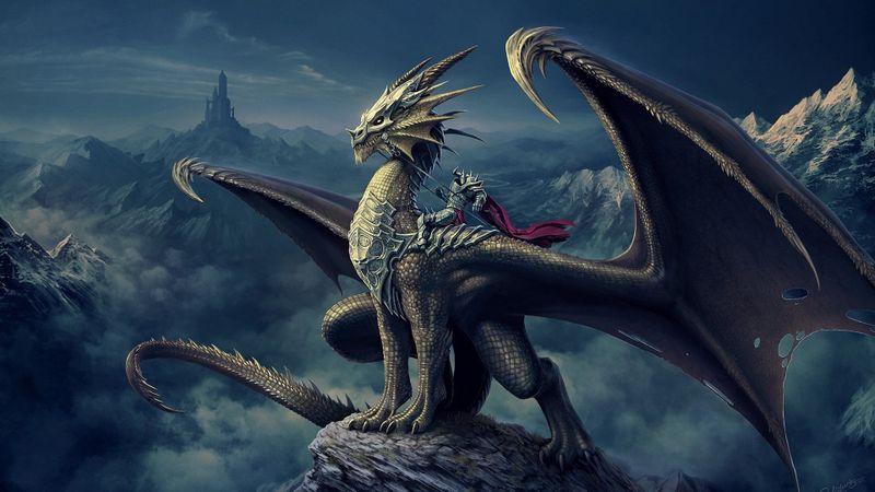 龙骑士高清游戏壁纸