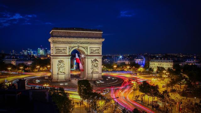 满是浪漫的国度 法国巴黎