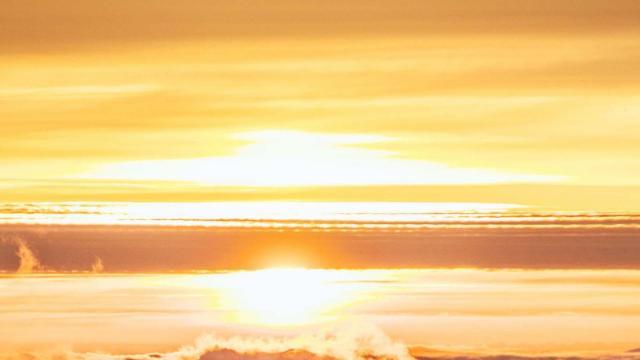 太阳升起来最美的风光