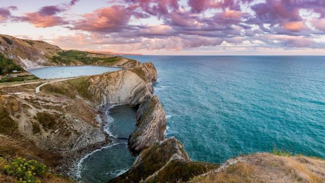 美得令人窒息的大海自然风光