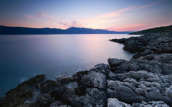 最迷人的大自然海岸风光景致