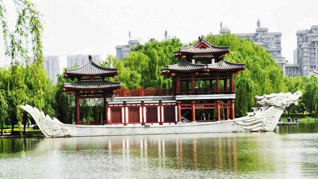 2020十一国内旅游景点大唐芙蓉园