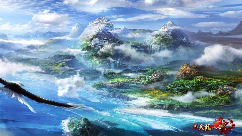 新天龙八部高清游戏场景壁纸