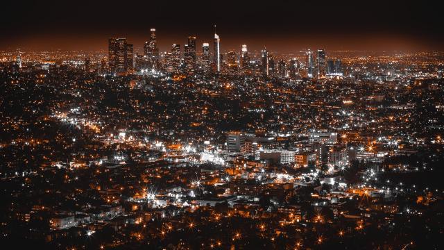 美国的繁荣地 时代都市洛杉矶