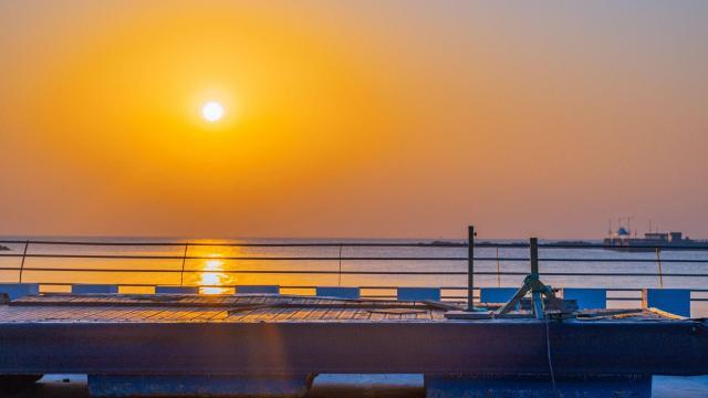 海边日落唯美风景写真