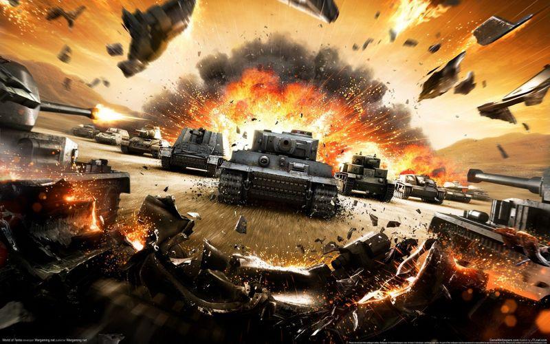 炫酷坦克世界高清大壁纸