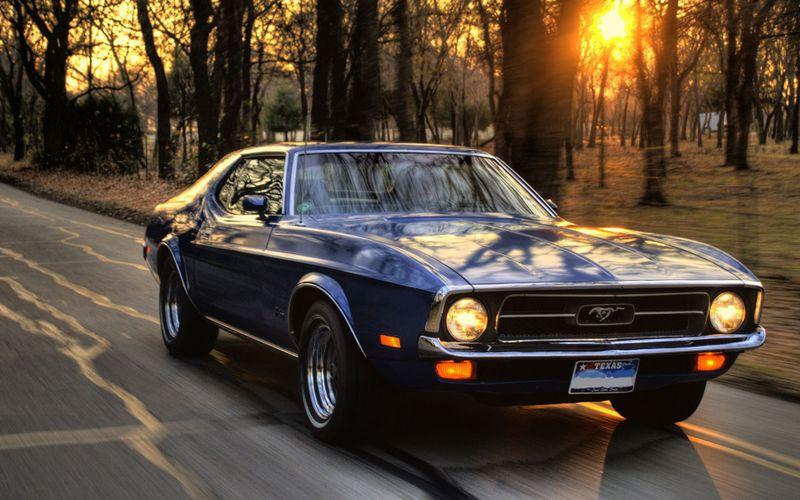 福特野马高清汽车壁纸