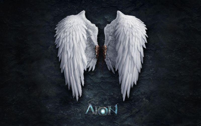 天使的翅膀aion电脑桌面壁纸高清下载