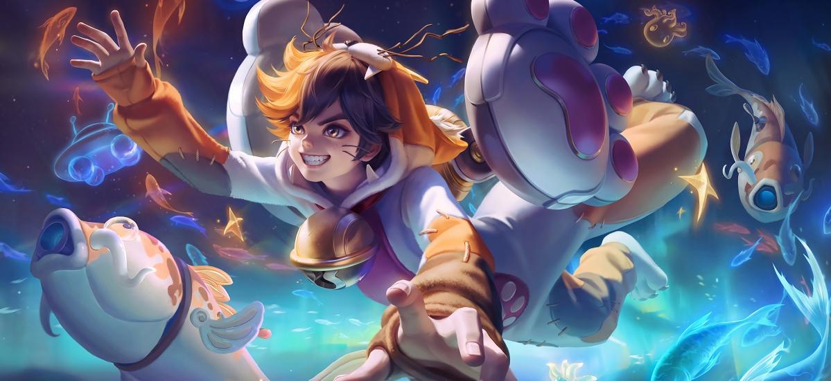 狂想玩偶喵 蒙犽 王者荣耀4k壁纸