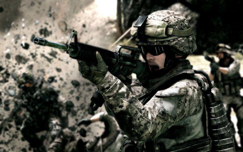 战场上的士兵战地3高清壁纸