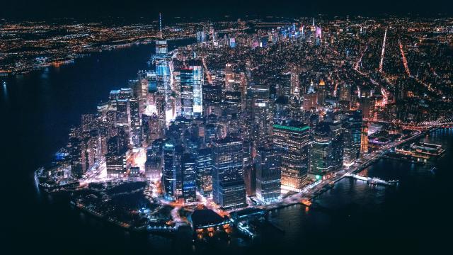 美国纽约世界上最繁华的地方之一