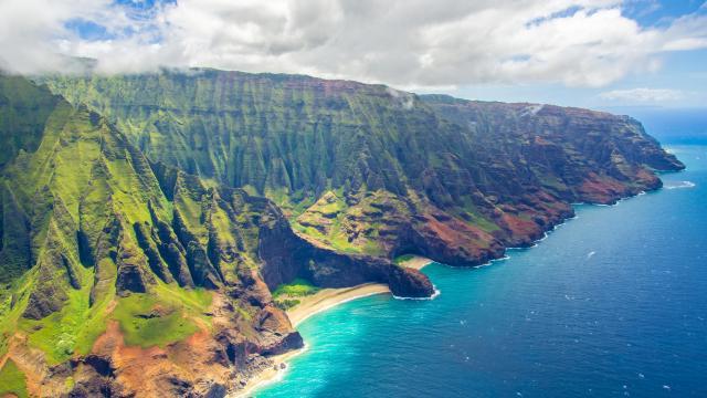 走进夏威夷的优美迷人风景