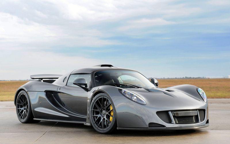 世界最快跑车亨尼西Venom GT桌面壁纸