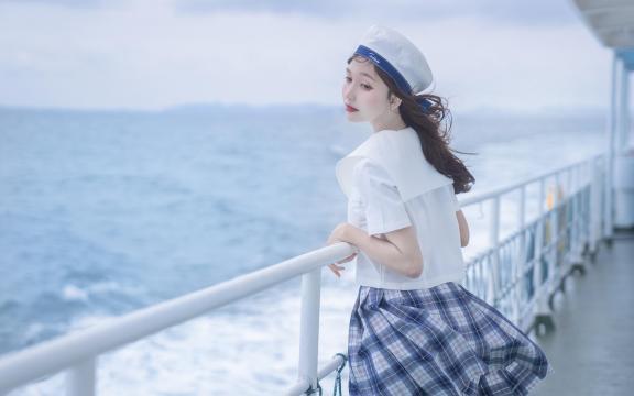 jk礼服少女纯洁引诱海上福利写真