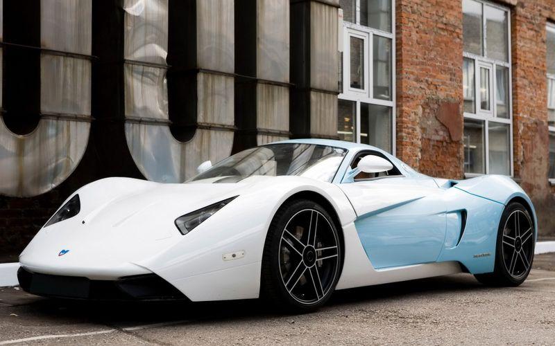超酷白色跑车高清汽车壁纸