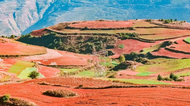 2020十一国内旅游景点云南东川红土地