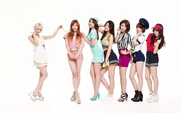 韩国性感女团《AOA》