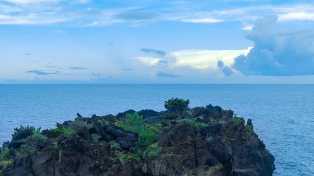 日本伊东城琦海岸清爽迷人风景