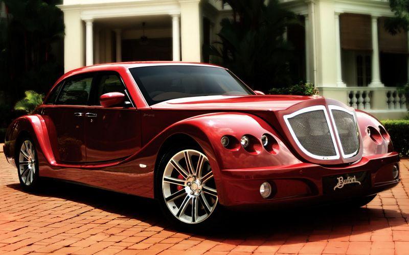 红色保斐利贵族老爷跑车高清洗车壁纸