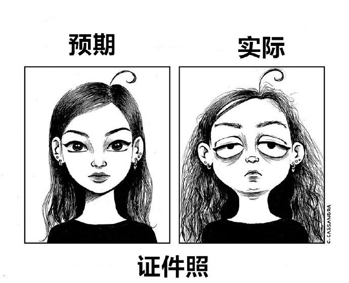 女人的日常漫画系列图片 可以这很女生