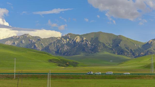 国庆节青藏高原旅游风光摄影