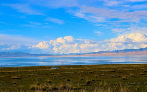 最美丽的青海湖风景
