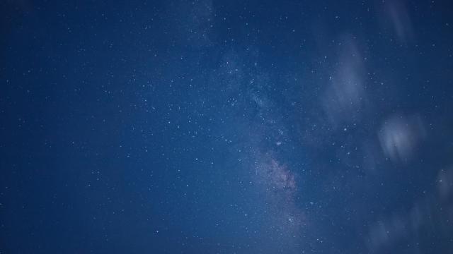 唯美壮观银河星空摄影