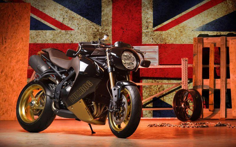 2014款Vliner Bulldog定制版摩托车高清壁纸