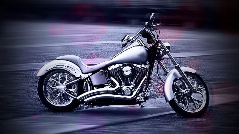 摩托车桌面壁纸