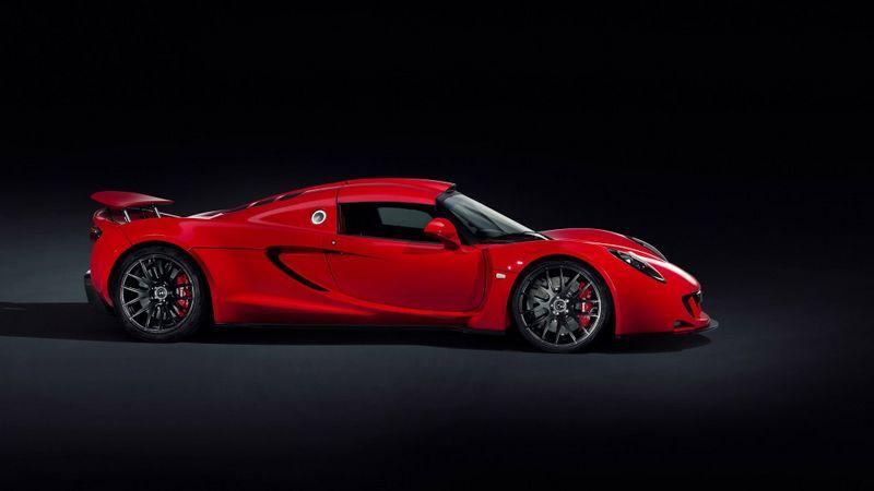 红色跑车宽屏汽车壁纸