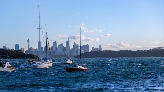 悉尼蔚蓝海景迷人写真